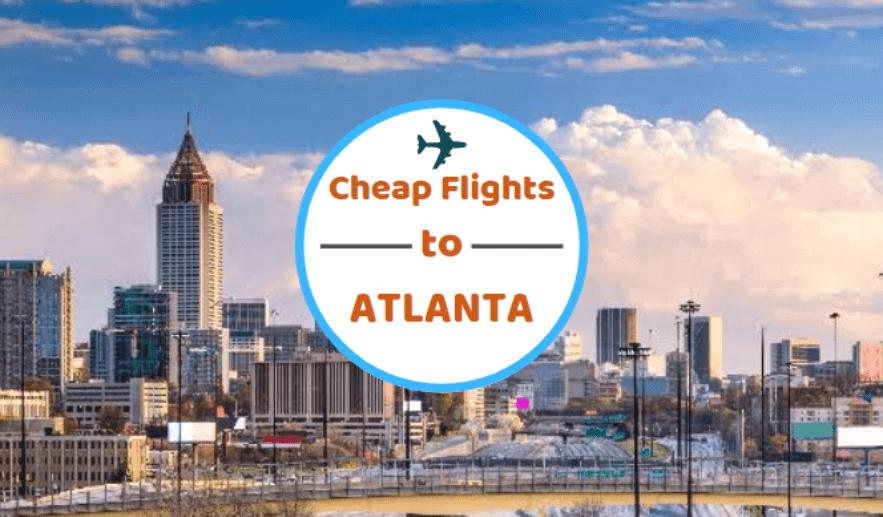 Cheap Flights to Atlanta