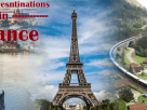 Holiday destinations in France