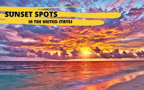 Sunrise and Sunset Spots in USA