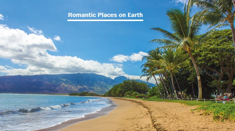Romantic Places on Earth