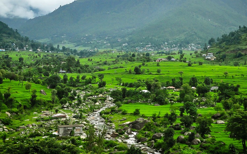 Valleys in Himachal Pradesh