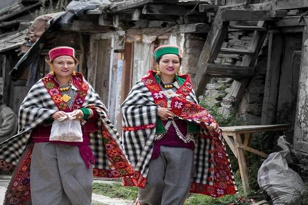 Traditional Dress of Kinnaur